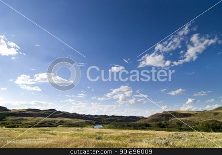 CreekHills stock photo, Prairie creek hills on the saskatchewan horizon. by Tyler Olson