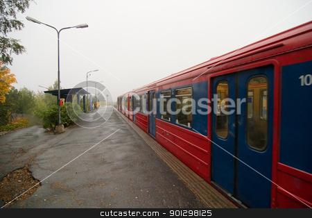 Oslo Subway stock photo, Oslo Subway cars by Tyler Olson