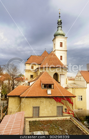 St. Nicolaus Church - Prague stock photo, St. Nicolaus Church in the old town of Prague, Czech by Tyler Olson