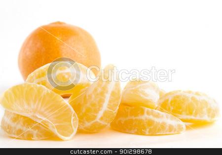 Orange Slice Pile stock photo, Pile of orange slices. by Tyler Olson