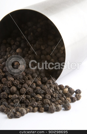 Bulk Black Pepper stock photo, A pile of bulk black pepper by Tyler Olson