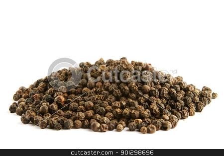 Bulk Black Pepper stock photo, A pile of bulk black pepper by Tyler Olson