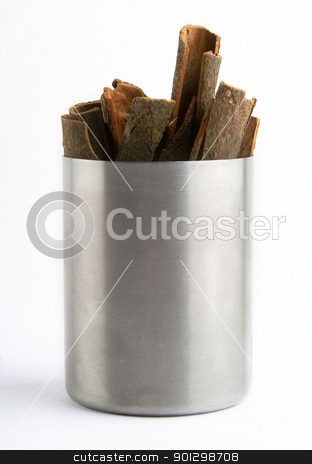 Bulk Cinnamon stock photo, Bulk cinnamon sticks by Tyler Olson