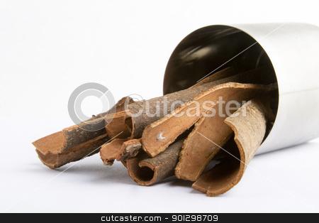 Bulk Cinnamon stock photo, Bulk cinnamon sticks by Tyler Olson