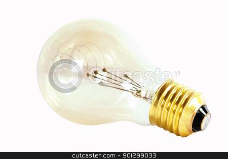 New Idea stock photo, A light bulb, good idea. (with clipping path) by Tyler Olson