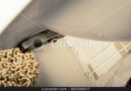 Sink Abstract stock photo, A retro sink abtract. by Tyler Olson