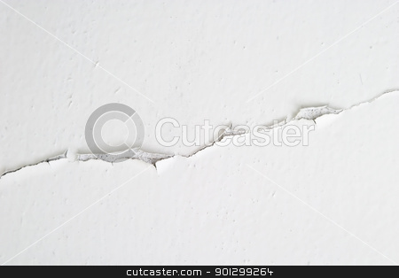 Cracked Paint Background stock photo, A background detail image of a wall with cracked paint. by Tyler Olson