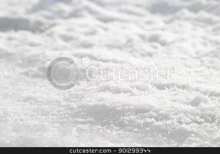 Snow Crystal Detail stock photo, Snow Crystal background detail image with shallow depth of field. by Tyler Olson