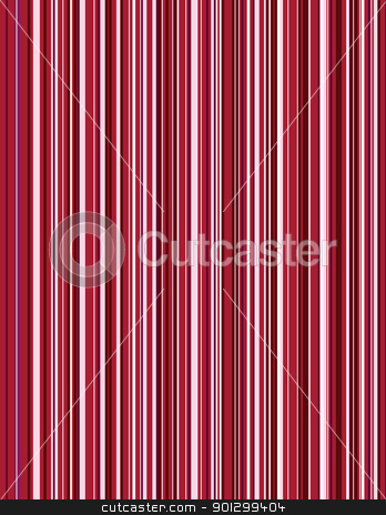 Red Pinstripe Background stock photo, A vector image of a red pin stipe pattern. by Tyler Olson