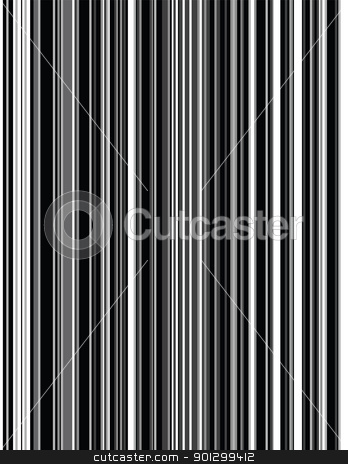 Grey Pinstripes stock photo, A vector image of grey toned pinstripes. by Tyler Olson