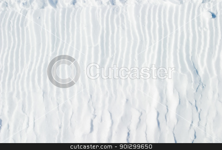 Snow Texture stock photo, A snow texture background image by Tyler Olson