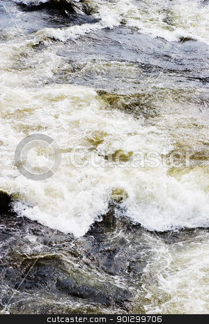 Rapid Water stock photo, A flowing water background texture image. by Tyler Olson