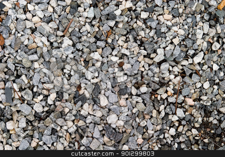 Small Rock Background stock photo, A background texture of small rocks by Tyler Olson