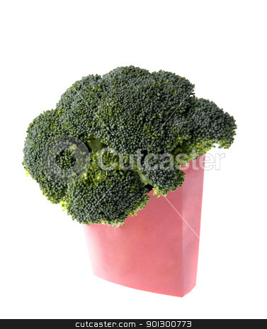 Broccoli Fast Food stock photo, Alternative to french fries - Broccoli, the fast food by Tyler Olson