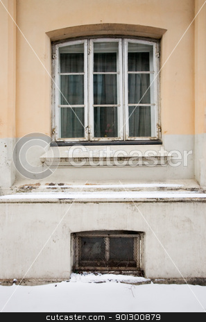 Old European Window stock photo, An old window on an old european building by Tyler Olson