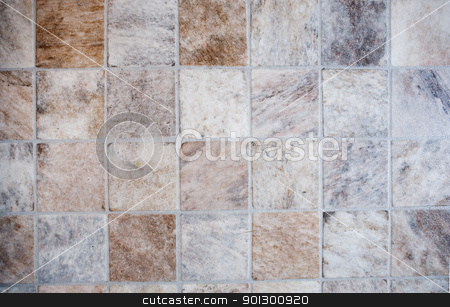 Tile Texture stock photo, A very detailed image of a linoleum tile background by Tyler Olson