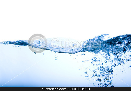 Bubble and Wave stock photo, A water background image of bubbles and waves by Tyler Olson