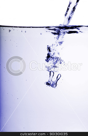 Cool Water stock photo, A background water abstract by Tyler Olson