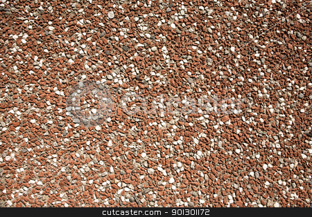 Stone Pebble Background stock photo, A brown and white pebble background by Tyler Olson