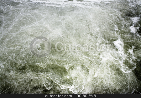 White Water Background stock photo, A bubbling water background abstract by Tyler Olson