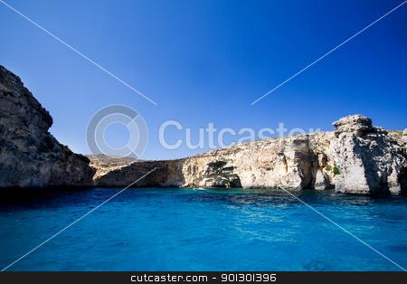 Ocean Cliffs stock photo, Cliffs on the edge of the ocean by Tyler Olson