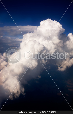 Storm Clouds stock photo, Storm clouds in the sky by Tyler Olson