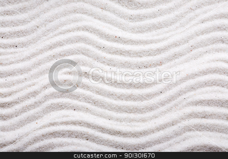 Sand Pattern Background stock photo, A background design in beautiful white sand by Tyler Olson