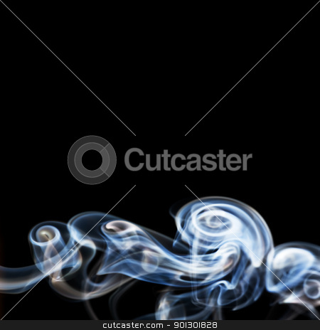 Cool Smoke Background stock photo, A black and white smoke background by Tyler Olson
