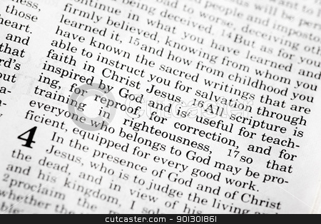 2 Timothy 3:16 stock photo, 2 Timothy 3:16 - A popular verse in the Christian New Testament by Tyler Olson