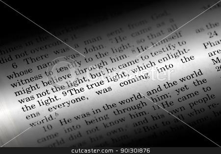 John 1:9 stock photo, John 1:9, a popular Bible verse from the New Testament by Tyler Olson