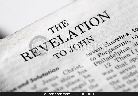 Revelations stock photo, The last book of the Bible - Revelations by Tyler Olson