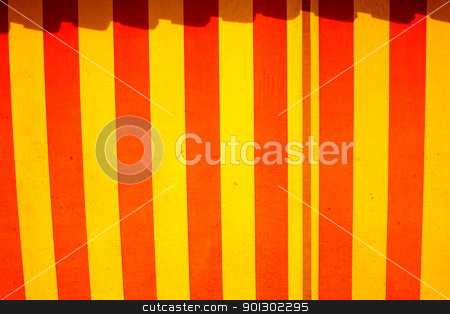Circus Tent Pattern stock photo, A circus tent pattern on a cloth texture by Tyler Olson