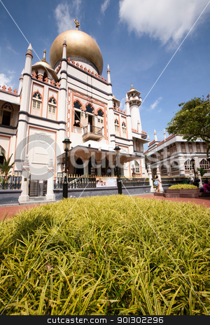 Masjid Sultan  stock photo, Masjid Sultan located in Singaopre - Sultan Mosque by Tyler Olson