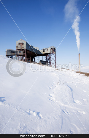 Old Mine stock photo, An old mine conveyor belt central, Svalbard, Norway by Tyler Olson