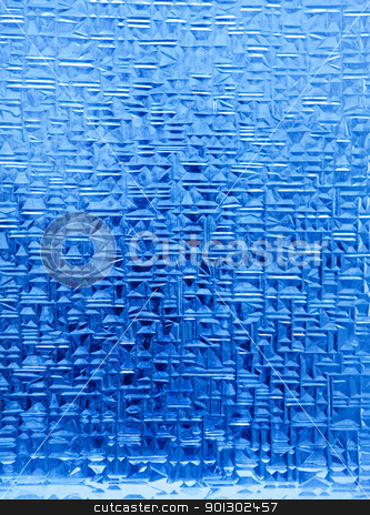 Ice Crystal Background stock photo, A background texture of blue ice crystals by Tyler Olson