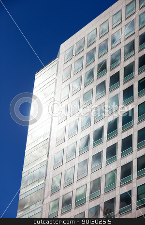 Office Building Abstract stock photo, A background style image of a high rise office building by Tyler Olson