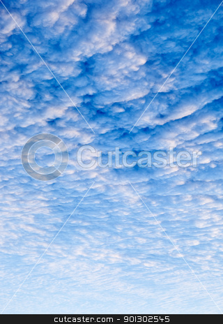 Cloud Background stock photo, A cloud sunset background, blue and pink by Tyler Olson