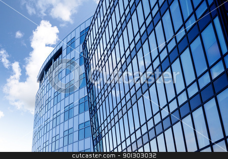 Glass Building stock photo, A background surface of modern glass buildings. by Tyler Olson