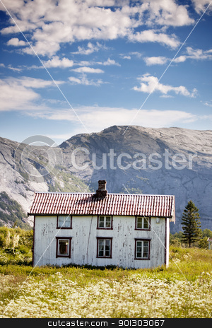 Mountain House stock photo, An abandoned house in the Norwegian mountains by Tyler Olson
