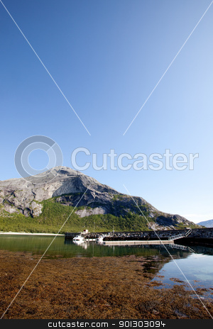 Norway Coast stock photo, A coastal landscape in northern Norway by Tyler Olson