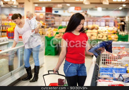 Women in shopping store shopping stock photo, Women spending their time in shopping store by Tyler Olson