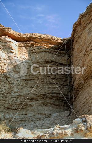 Rocky cliffs, the Black Sea coast stock photo, Rocky cliffs, the Black Sea coast by kostiuchenko