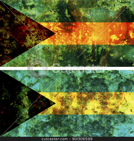 bahamas flag stock photo, some very old grunge flag of bahamas by michal812