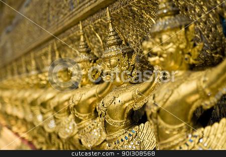Grand Palace in Bangkok, Thailand stock photo, Famous Thailand's landmark, Grand Palace in Bangkok by johnnychaos