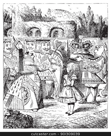 Off with her head - Alice's Adventures in Wonderland original vi