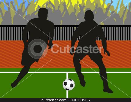 football stock photo, football by Minka Ruskova-Stefanova