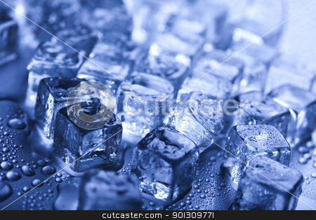 Cool background stock photo, Ice can refer any of the 14 known solid phases of water. However, in non-scientific contexts, it usually describes ice Ih, which is the most abundant of these phases in Earth's biosphere. This type of ice is a soft, fragile, crystalline solid, which can appear transparent or an opaque bluish-white color depending on the presence of impurities such as air. The manufacture and use of ice cubes or crushed ice is common for drinks.  by Sebastian Duda