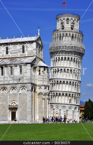 Leaning Tower of Pisa , Italy stock photo, Leaning Tower of Pisa , in Italy by ruigsantos
