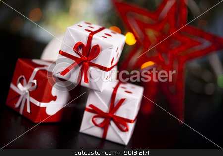 Gifts stock photo,  by Sebastian Duda