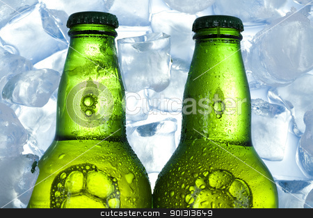 Ice beer  stock photo, Beer collection, glass in studio. by Sebastian Duda